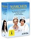 Märchen-Collection - Libuse Safrankova 4 DVDs: Drei Haselnüsse für Aschenbrödel - Der Prinz und der Abendstern - Der dritte Prinz - Die kleine Seejungfrau