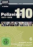 Polizeiruf 110 - Box 6: 1977-1978 (DDR TV-Archiv) Softbox [4 DVDs]